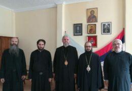 Visitó al Obispo Kirilo el Metropolita Santiago El Khoury, nueva autoridad de la Iglesia Antioquena en Argentina