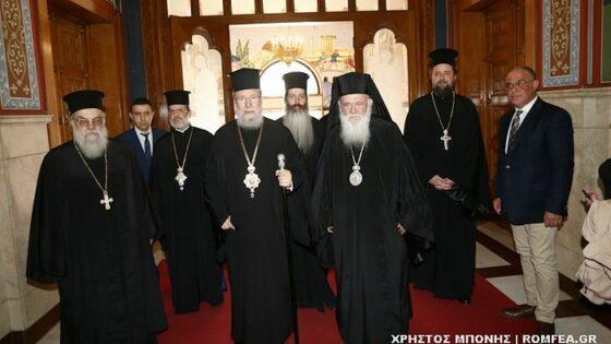 Предстоятели Кипрской и Элладской церквей обсудили Украинский церковный вопрос