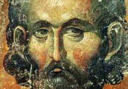 """Mártir Sabas Estratelates (""""el General"""") de Roma y 70 soldados con él"""