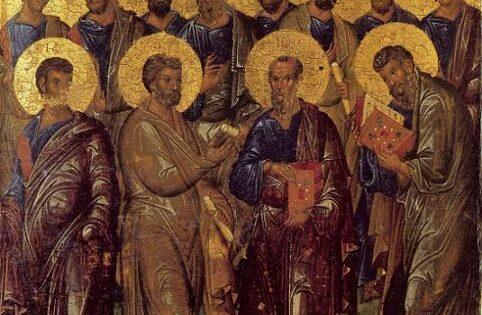 Sinaxis de los Santos, Gloriosos y Todo Alabados Doce Apóstoles
