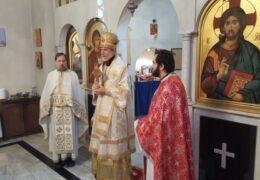 Владыка Игнатий возглавил богослужение в честь великомученика великого князя Лазаря Сербского