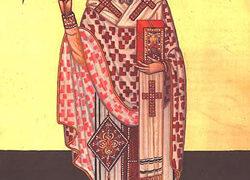 San Pafnucio el Confesor, Obispo de la egipcia Tebas