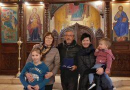 Члены прихода во имя Св. Николая Сербского в Сантьяго, Чили, Андрей и Надежда Лукьяновы получили медаль «За любовь и верность»