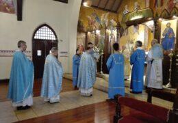 Прослава празника Рођења Пресвете Богородице (по новом календару) у Сантјаго де Чилеу