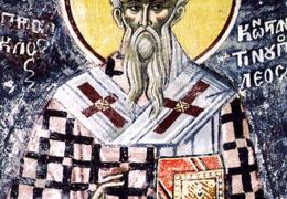 San Proclo, patriarca de Constantinopla