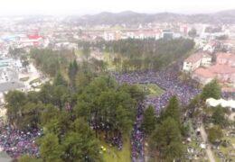 Hoy se llevó a cabo en la ciudad de Niksic, Montenegro, la Divina Liturgia Episcopal con la bendición de las reliquias de San Basilio de Ostrog