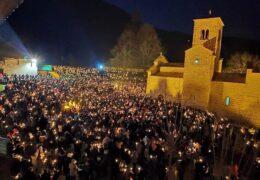 Черногория встречает новый год на улице