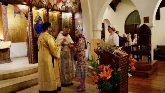 Богојављење у парохији Св.Николаја Жичког у Чилеу