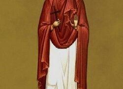 Mártir Aquilina de Biblos en Siria