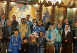 Праздник Успения Пресвятой Богородицы в приходе Св. Николая Сербского в Сантьяго, Чили