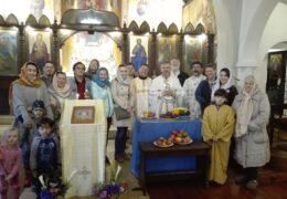 Celebración de la Gran Fiesta de la Transfiguración en la Parroquia de San Nicolás de Serbia en Santiago, Chile