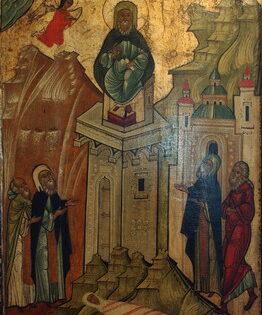 Свети преподобни Симеон Столпник