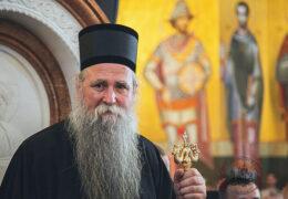 Святейший Патриарх Кирилл поздравил Митрополита Черногорско-приморского Иоанникия с интронизацией