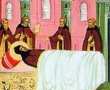El reposo del Venerable Sabbatius, taumaturgo de Solovki