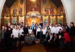 Престольный праздник храма Рождества Пресвятой Богородицы Антиохийского патриархата в Сантьяго, Чили