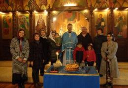 Прославление Святого пророка Илии в приходе Св. Николая Сербского