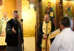 Американский пилот перешел в Православие в Сантьяго, Чили