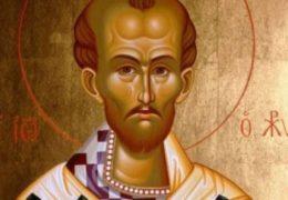 San Juan Crisóstomo, patriarca de Constantinopla