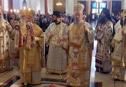 Торжествена Литургија Предстојатељâ Цркава на Кипру