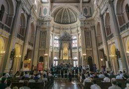 Festival de coros en Santiago