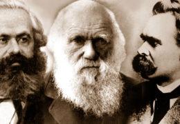 """""""Три су фатална духа европске цивилизације: Дарвин, Ниче и Маркс"""""""
