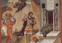 La Decapitación de San Juan Bautista