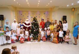 Божићна приредба за децу у парохији Светог владике Николаја у Чилеу