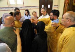 Прославление Св. Ксении Петербургской в приходе Св. Николая Сербского в Сантьяго, Чили