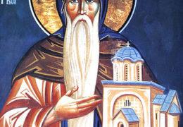 San Simeón, el Exudador de mirra