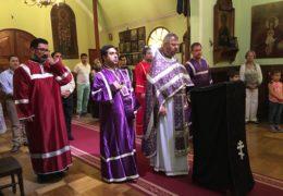 Первая неделя Великого поста в приходе Св. Николая Сербского и в храме Св. Троицы и Казанской иконы Божией Матери в Сантьяго, Чили