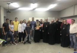 El Metropolita Amfilohije y los Obispos Kirilo y Metodije visitaron las clases de idioma serbio dictadas en Saenz Peña, Chaco