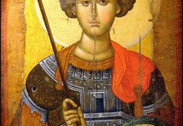 Traslado de las reliquias del gran mártir Jorge