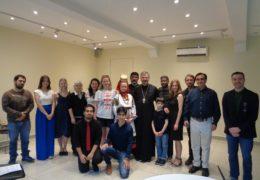 В рамках Рождественских чтений в Сантьяго, Чили состоялась лекция «Секреты русского народного костюма».