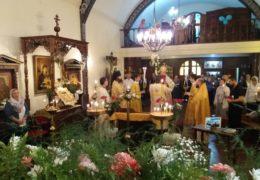 En la catedral de Blagoveshchensk en la ciudad de Buenos Aires, se llevaron a cabo eventos solemnes para conmemorar el 50 aniversario de la consagración de esta catedral