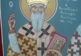 San Nicolás Chrysoberges, Patriarca de Constantinopla