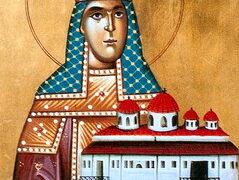 Santa emperatriz Teofanía