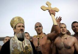La celebración de la Epifanía en Serbia 2019