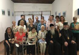 El Metropolita Amfilohije y el Obispo Kirilo visitaron la Parroquia San Pedro II Njegos en Madariaga