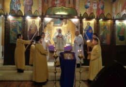 Богослужења прве недеље Великог поста са владиком Кирилом у Сантјагу де Чиле