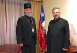 Visita a Chile de Su Gracia Cirilo, Obispo de Buenos Aires, Centro y Sur América