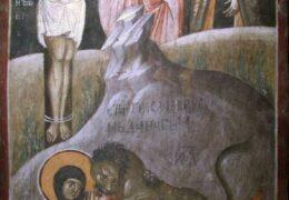 San Pafnucio de Tebas , discípulo de San Antonio el Grande