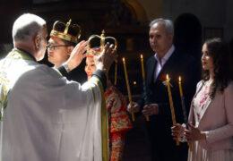 Први пут у историји светиње: Кинески пар се заклео на вјерност у цркви Светог Марка