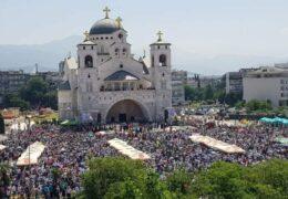 Reunión Litúrgica en defensa de los santuarios en Montenegro