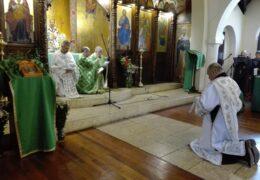 День Святой Троицы в приходе Св. Николая Сербского в Сантьяго, Чили