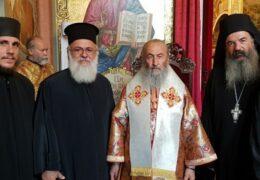 Клирики Элладской Православной Церкви выразили почтение и поддержку Блаженнейшему Митрополиту Онуфрию