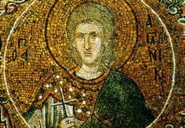 Santo Mártir Agathoniko y sus compañeros