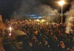 По всей Черногории прошли акции протеста против принятия дискриминационного закона