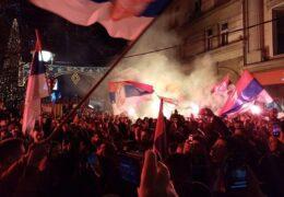 В Белграде проходят акции протеста против дейсвий властей Черногории