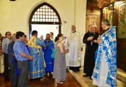 Празник Ваведења у парохији Светог Николаја Жичког