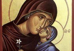 La Concepción de la Santísima Madre de Dios por santa Ana